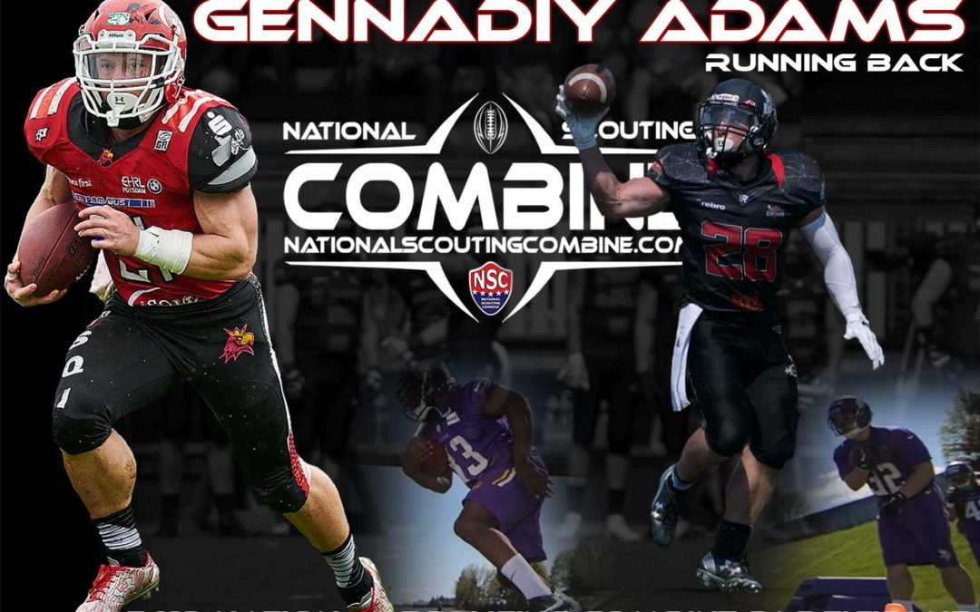 Catching up with 2019 National Scouting Combine Athlete Gennadiy Adams from Bemidji State
