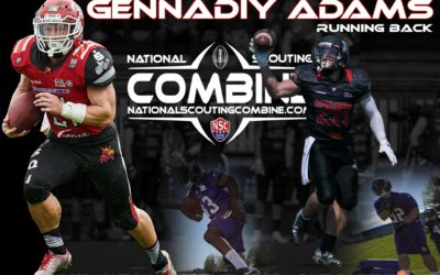 Catching up with RB Gennadiy Adams, 2019 National Scouting Combine Participant