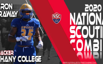 2020 National Scouting Combine Prospect Jeron Caraway, Linebacker from Bethany College