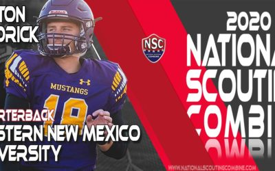 2020 National Scouting Combine Prospect Peyton Kendrick, QB from Western New Mexico University