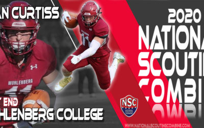 2020 National Scouting Combine Prospect Ryan Curtiss, Tight End from Muhlenberg College
