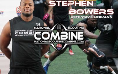 Catching up with DE Stephen Bowers, 2019 National Scouting Combine Participant