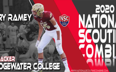 2020 National Scouting Combine Prospect Gary Ramey, LB from Bridgewater College