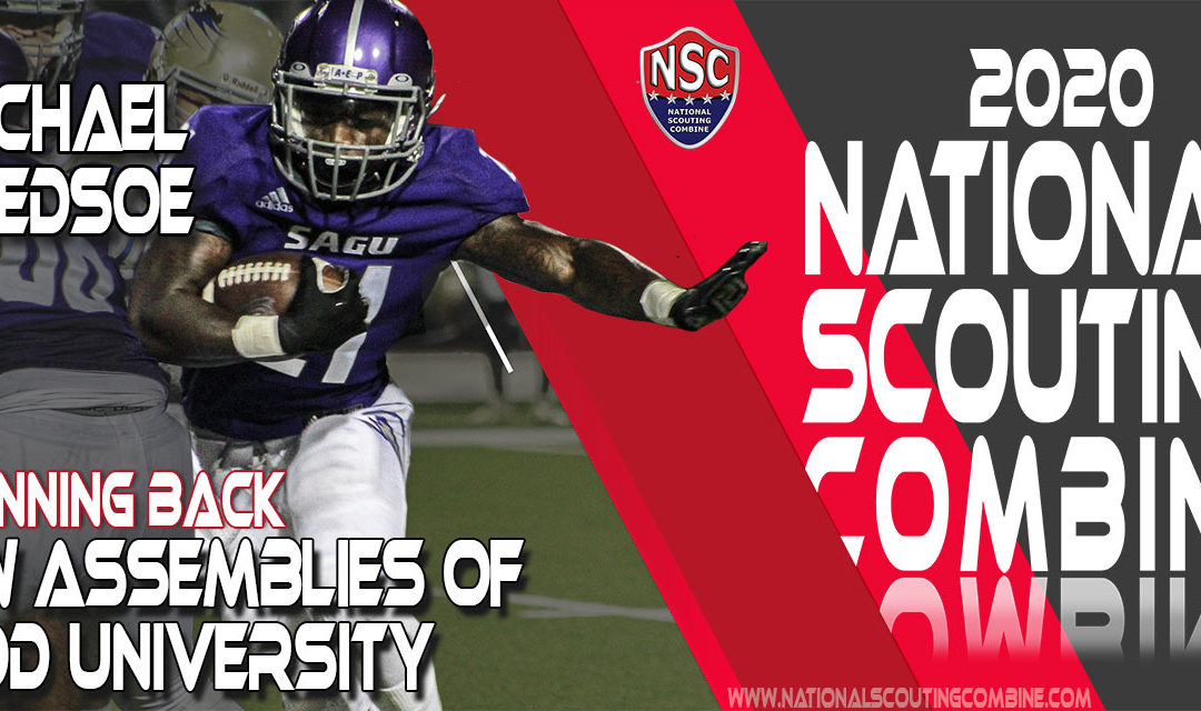 2020 National Scouting Combine Prospect Michael Bledsoe, RB from Southwestern Assemblies Of God University