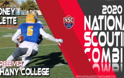 2020 National Scouting Combine Prospect Rodney Molett, WR from Bethany College