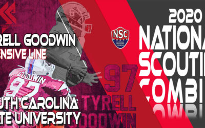 2020 National Scouting Combine Prospect Tyrell Goodwin, DL from South Carolina State University