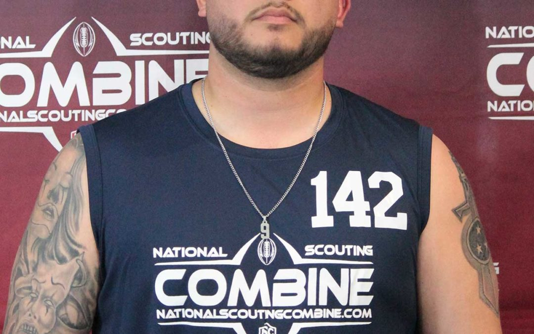National Scouting Combine Interview with QB Rudy Saucedo