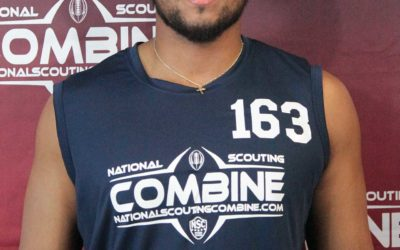National Scouting Combine Interview with LB Anton Richardson from Baldwin Wallace