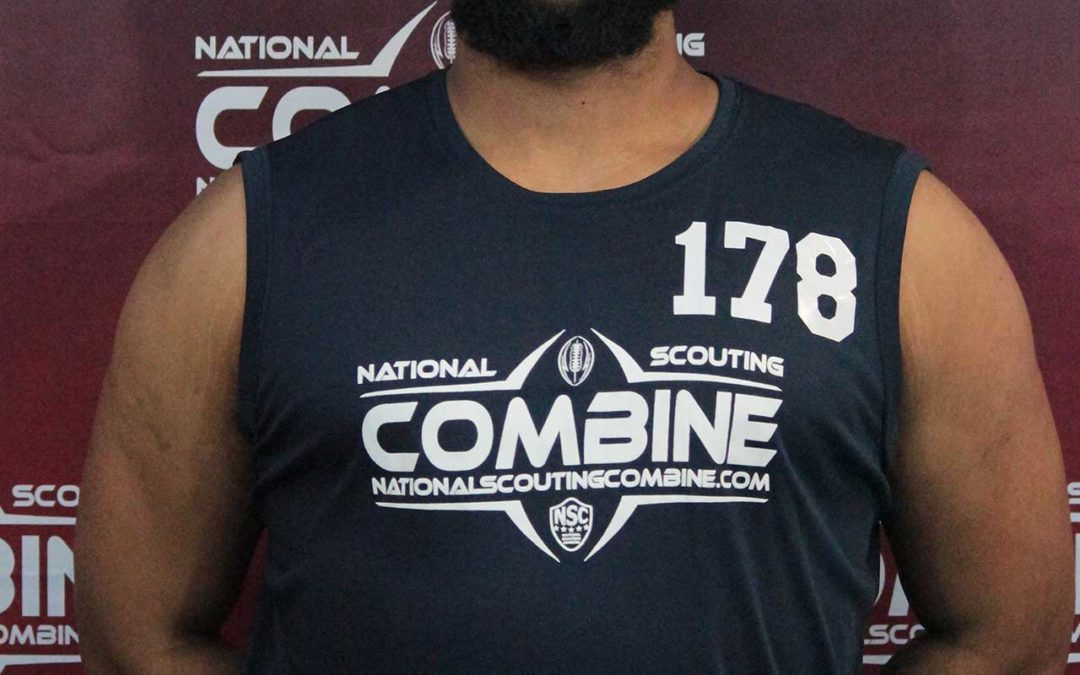 National Scouting Combine Interview: Andre Bird-Pierre, DL from Graceland University