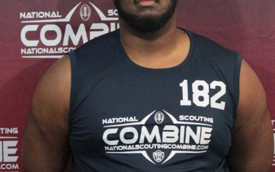 National Scouting Combine Interview: Dante Ogburn, OL from Lane University