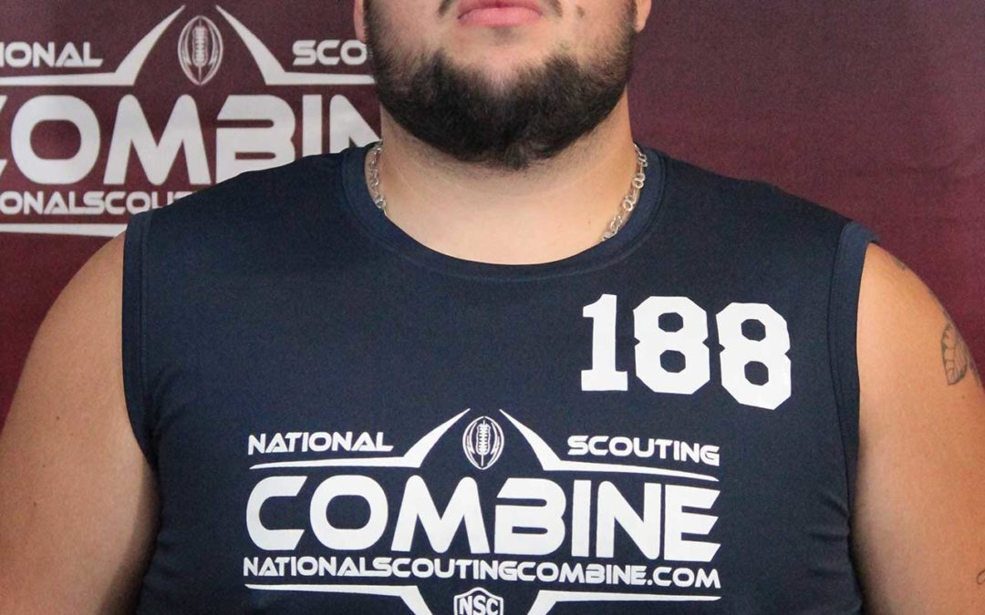 National Scouting Combine Interview: Felipe Castro, International OL from Chile