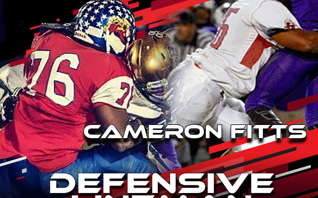 2021 National Scouting Combine Featured Athlete Cameron Fitts, DL from Anderson University
