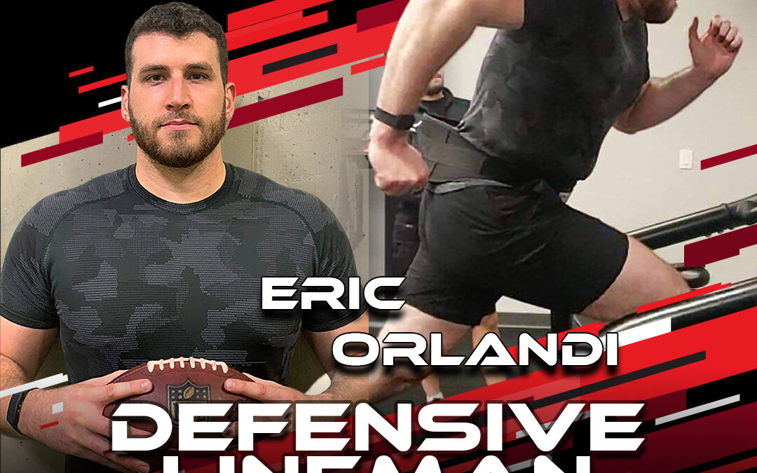 2021 National Scouting Combine Featured Athlete Eric Orlandi, Rugby Lock & Football DL from Cincinnati