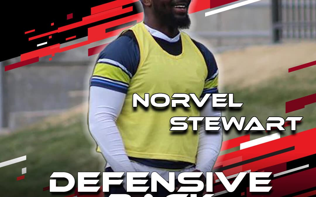 """2021 National Scouting Combine Featured Athlete Norvel """"DJ"""" Stewart, DB from Rhode Island"""