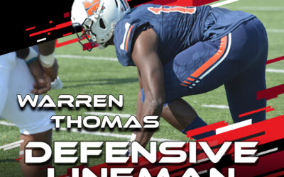2021 National Scouting Combine Featured Athlete Warren Thomas, DL from Midland University