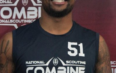 National Scouting Combine Interview: Brandon Carswell, DL from Delaware State University