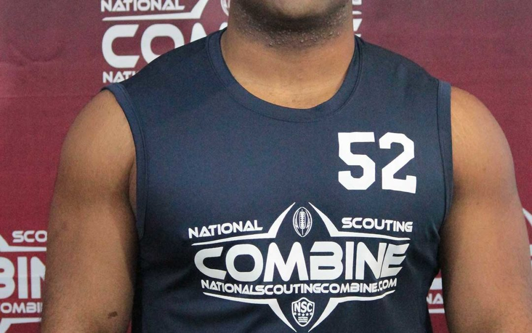 National Scouting Combine Interview with DL Darryl Tolson