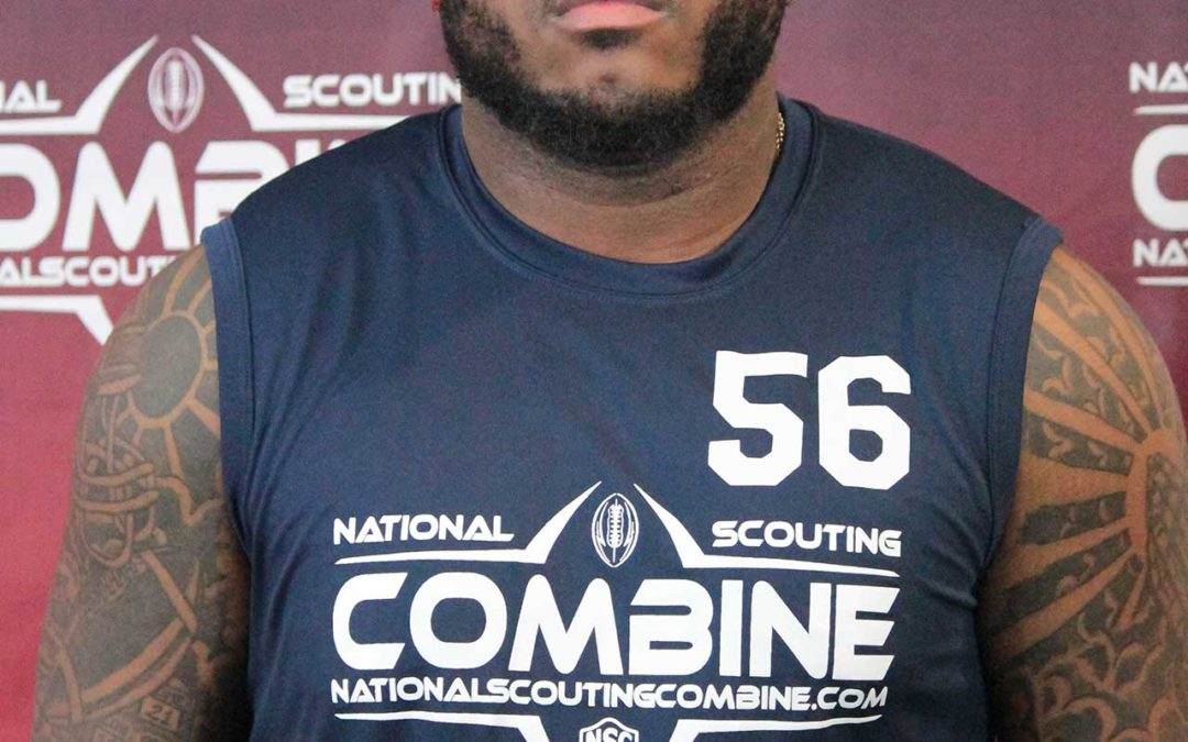 National Scouting Combine Interview: LB Deanthony Hall-Steele