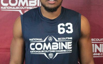 National Scouting Combine Interview: Joshua Donaldson, DB from Brockport College
