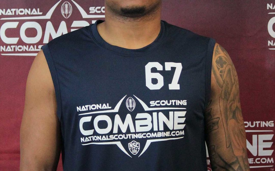 National Scouting Combine Interview: Robby Huddleston, LB/DE