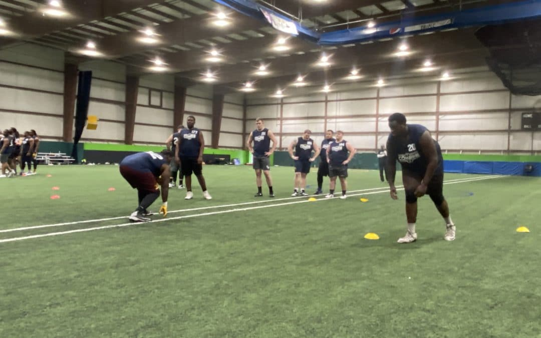 2020 National Scouting Combine: DL Drills