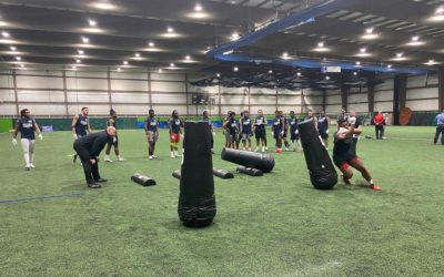 2020 National Scouting Combine: Linebacker Drills