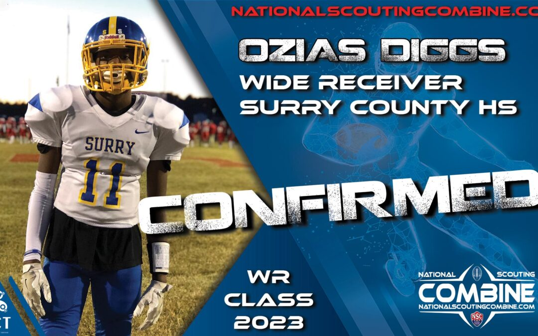 National Scouting Combine Prospect HS Ozias Diggs, WR from Surry County HS