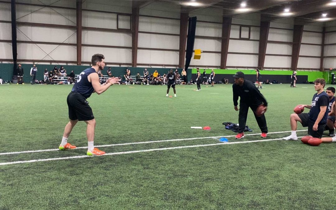 2020 National Scouting Combine: QB Drills
