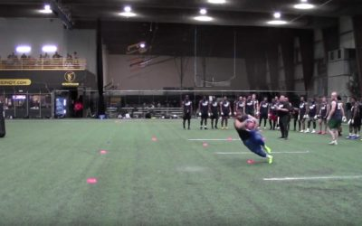 2020 National Scouting Combine: RB Drills