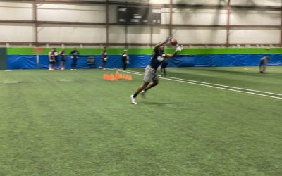 2020 National Scouting Combine: WR-TE Drills
