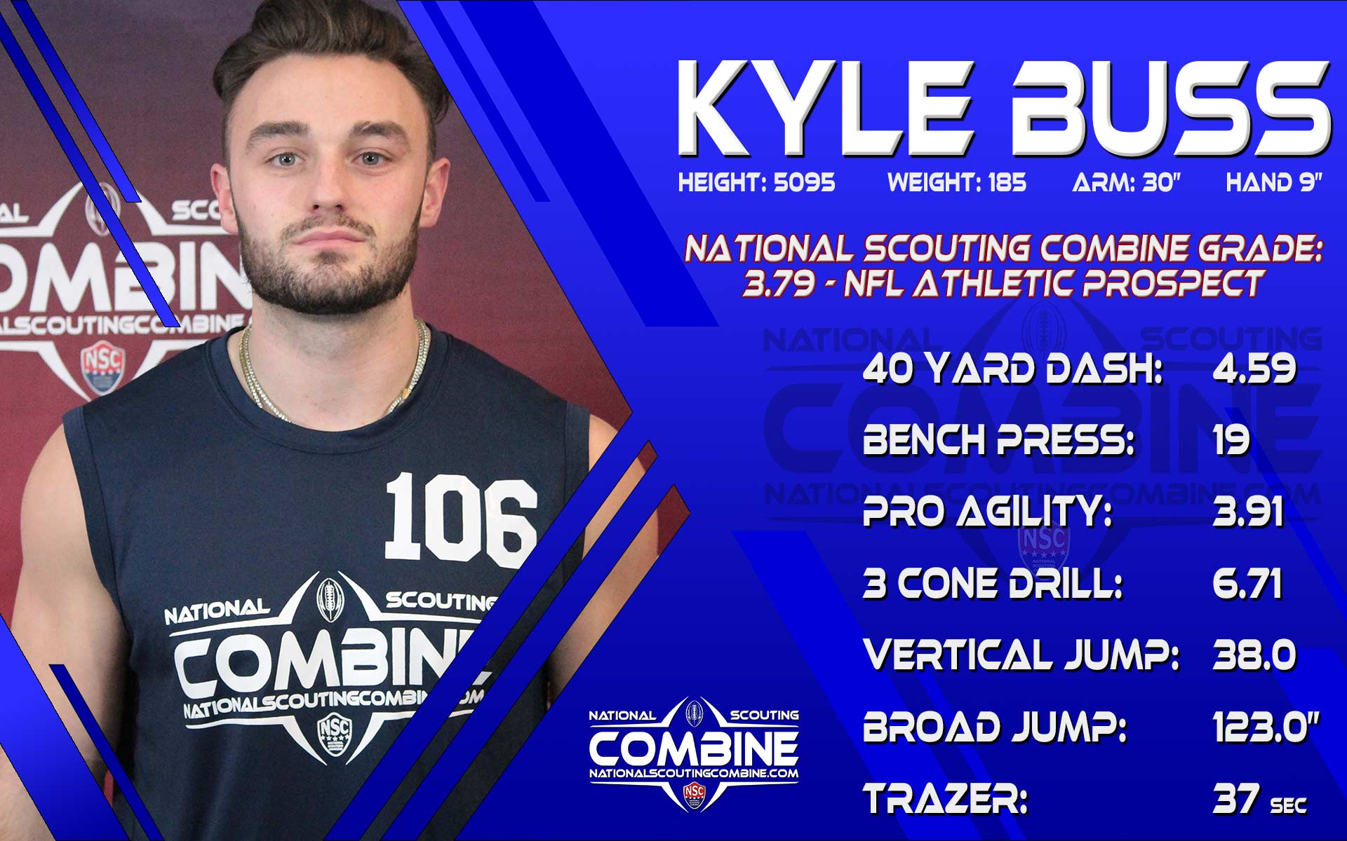 NSC SCOUTING REPORT: KYLE BUSS