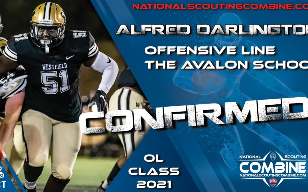 National Scouting Combine HS Prospect Alfred Darlington, OL from The Avalon School