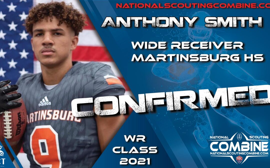 National Scouting Combine 2021 Prospect Anthony Smith, WR/SS from Martinsburg HS