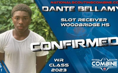 National Scouting Combine HS Prospect Dante Bellamy, WR from Stone Bridge