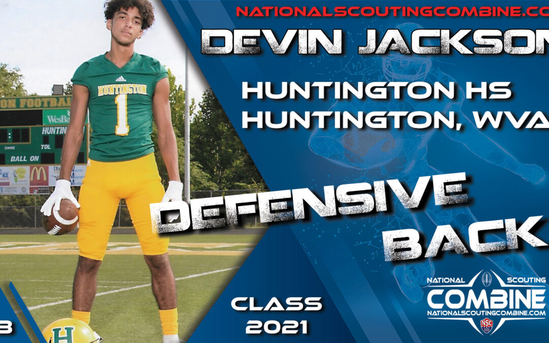 National Scouting Combine Prospect Devin Jackson, DB from Huntington High School