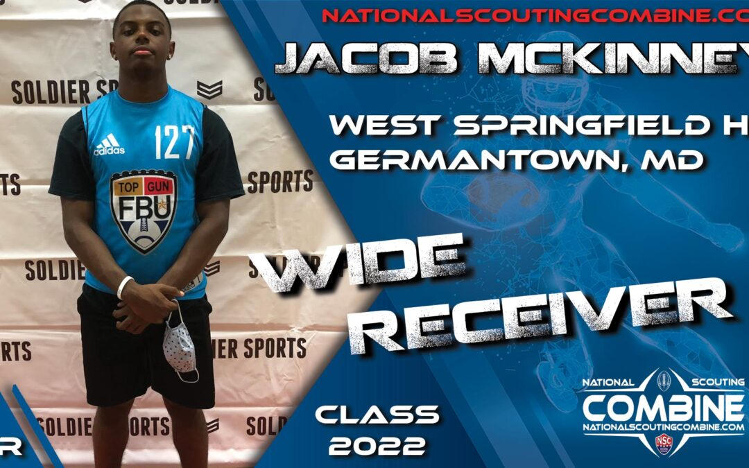 National Scouting Combine Prospect Jacob McKinney, WR from West Springfield HS