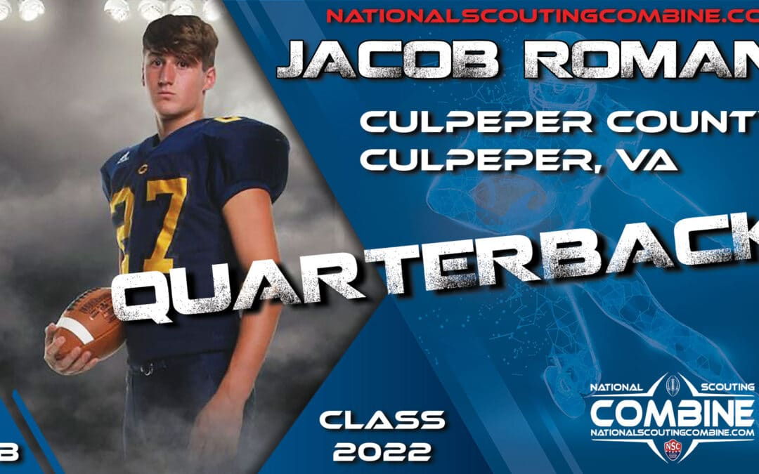 National Scouting Combine Prospect Jacob Roman, QB/WR from Culpeper County High School