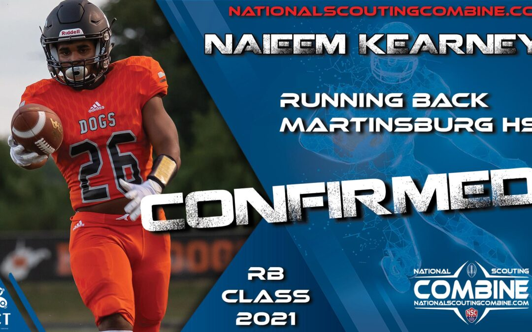 National Scouting Combine HS Prospect Naieem Kearney, RB from Martinsburg High School