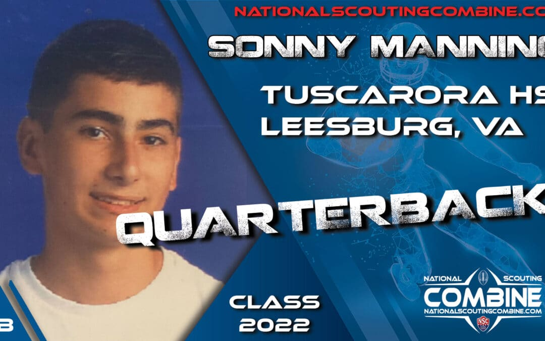 National Scouting Combine Prospect Sonny Mannino, QB from Tuscarora High School