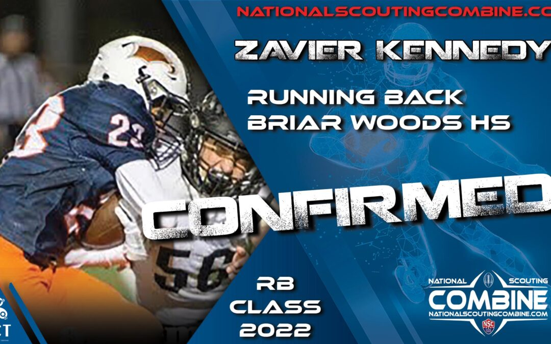 National Scouting Combine HS Prospect Zavier Kennedy, RB from Briar Woods HS