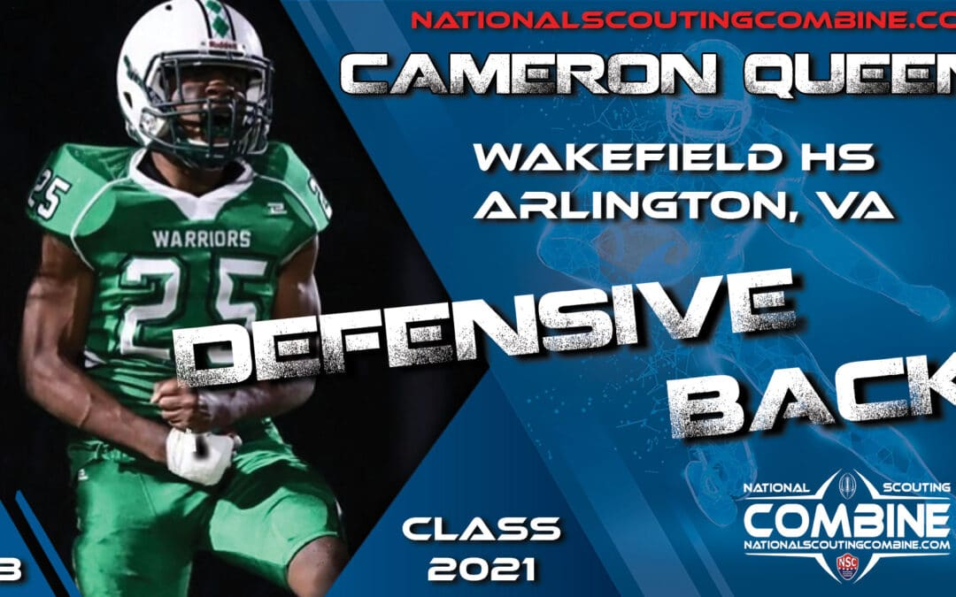 National Scouting Combine Prospect Cameron Queen, DB  from Wakefield High School