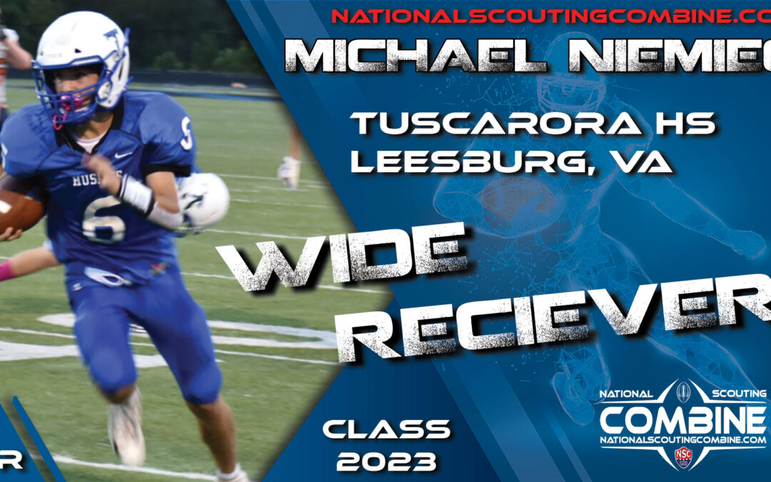 National Scouting Combine Prospect Michael Niemiec, QB/WR from Tuscarora High School