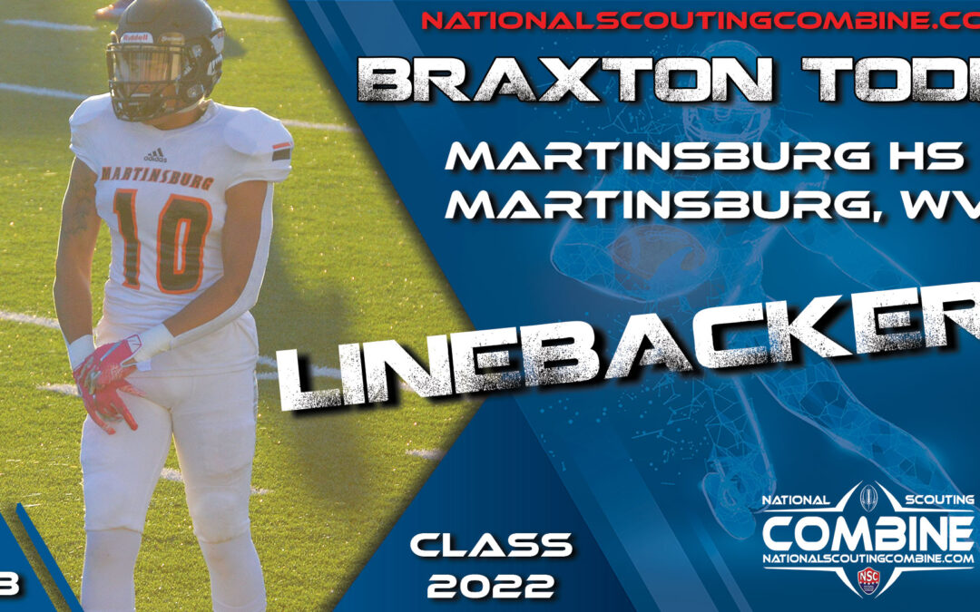 National Scouting Combine Prospect Todd Braxton, LB from Martinsburg High School