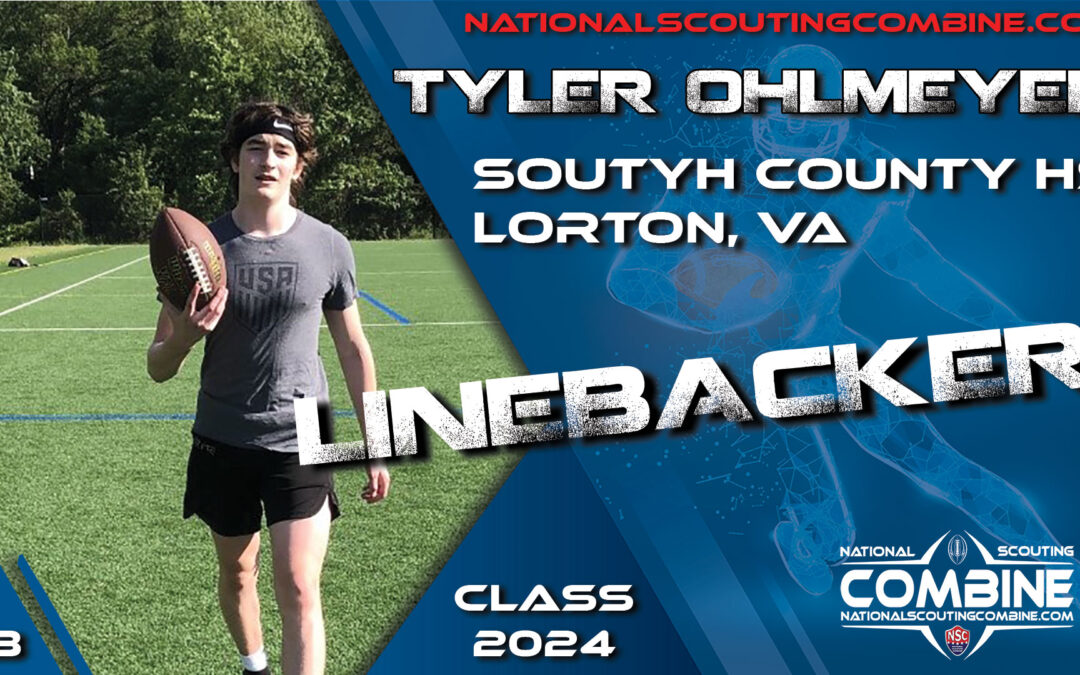 National Scouting Combine Prospect Tyler Ohlmeyer, LB from South County High School