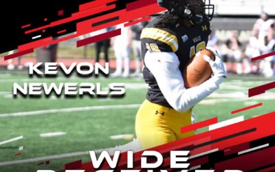 2021 National Scouting Combine Featured Athlete Kevon Newerls, WR from Millersville University