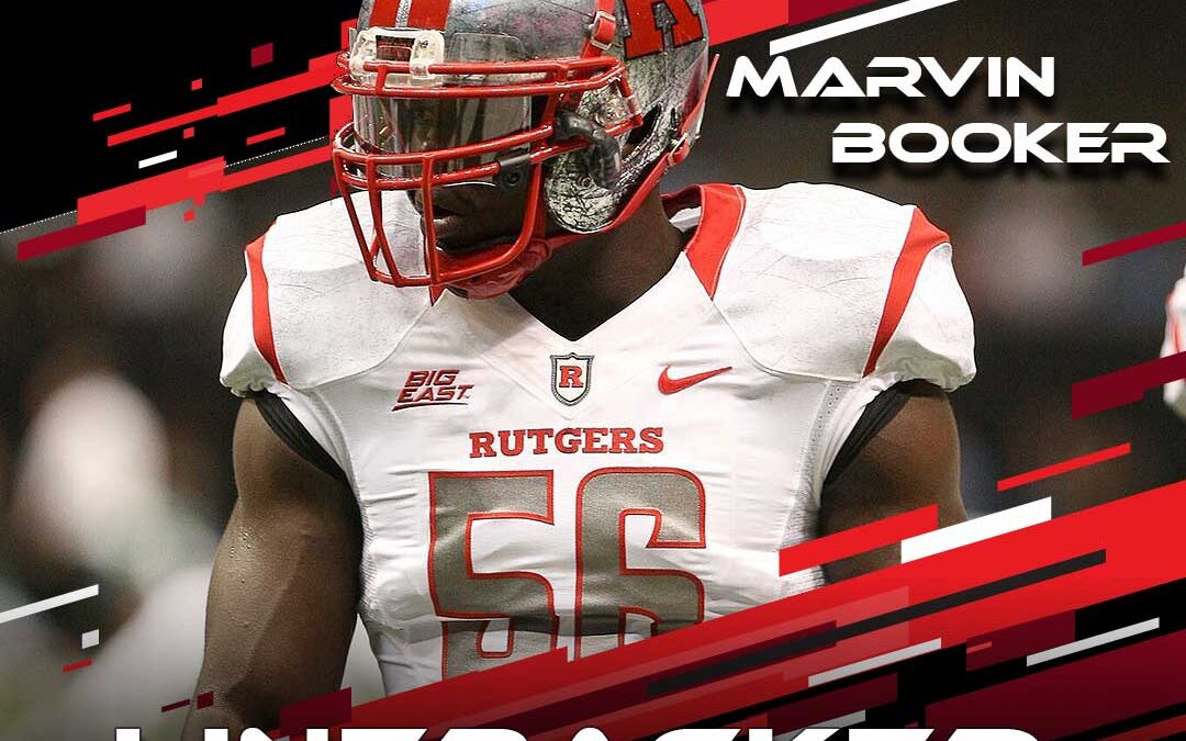 2021 National Scouting Combine Featured Athlete Marvin Booker, LB from Rutgers University