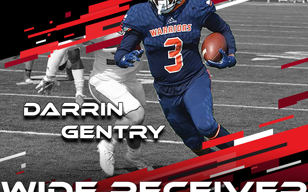 2021 National Scouting Combine Featured Athlete Darrin Gentry, WR from Midland University