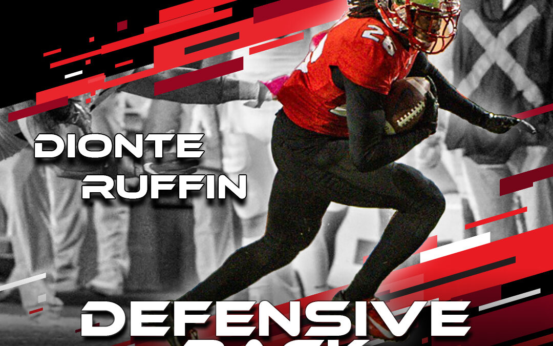 2021 National Scouting Combine Featured Athlete Dionte Ruffin, DB from Western Kentucky University
