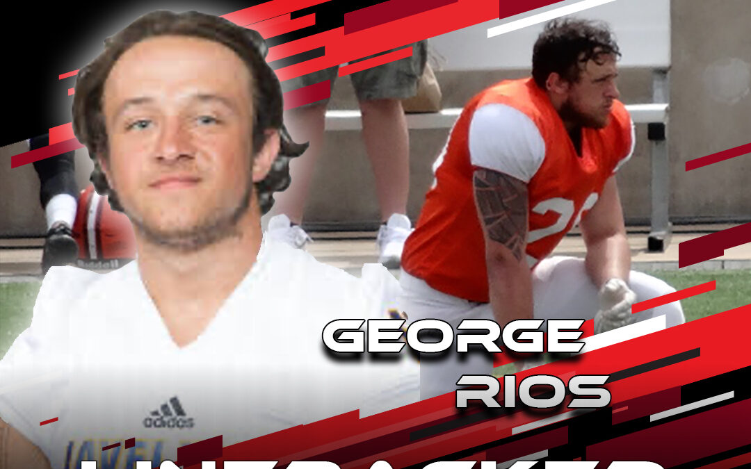 2021 National Scouting Combine Featured Athlete George Rios, LB from Texas A&M Kingsville