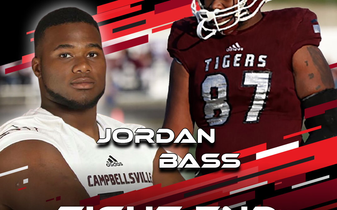 2021 National Scouting Combine Featured Athlete Jordan Bass, TE from Campbellsville University